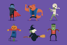 Halloween Character Collection...