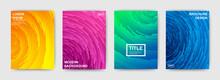 Set Of Modern Bright Templates...