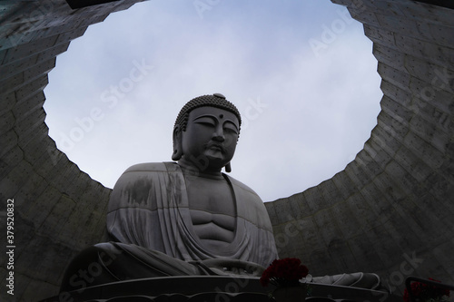 The Great Buddha that protects Sapporo Canvas