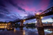 River Kwai Noi Bridge, Kanchan...