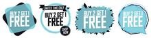 Buy 2 Get 1 Free, Set Sale Ban...