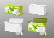 Templates Of Tea Packaging Wit...