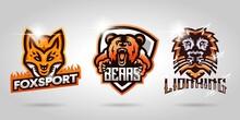 A Collection Of Fox, Bear, Lio...