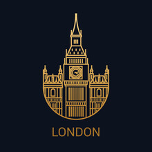 London Icon. Great Britain . C...