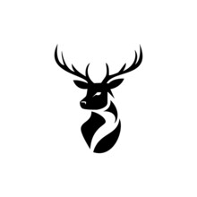 This Is A Deer Logo .