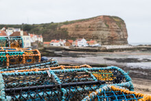 Crab Pots At Staithes