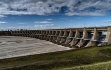 Garrison Dam Near Bismarck Nor...