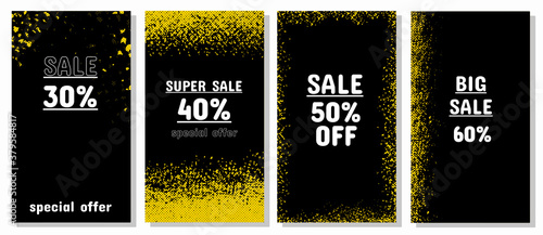 Tela Special offers in black, white and yellow