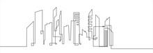 City Landscapes Line Vector Il...