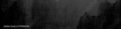 Photographie Abstrakter Hintergrund, Textur und Banner in schwarz und weiß