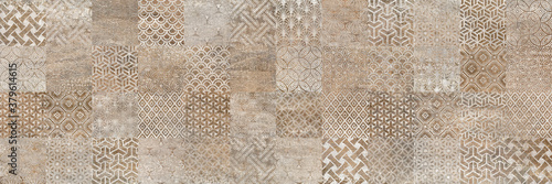 Fotografia retro tile pattern vintage background