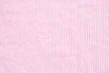 Pale Pink Plush Lined Fabric Background