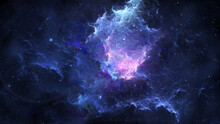 Space Background. Colorful Fra...