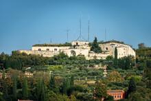 Forte San Mattia, 1843, Austrian Military Fortress Of The First Italian War Of Independence (Risorgimento), Verona, Veneto, Italy, Europe.