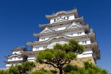 The beautiful castle of Himeji (Japan)