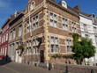 Die holländische Stadt Maastricht an der Maas
