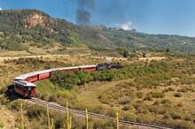 Cumbres & Toltec Narrow Gage Railroad In The San Juan Mtns;  Near Chama, New Mexico