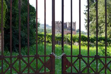Village viticole de Soave, Italie