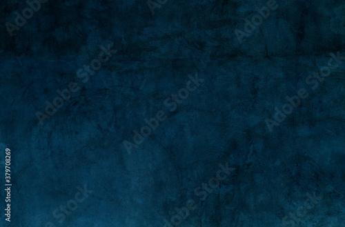 Photo Dark blue wall background