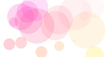 White Background With Pink Circles For Wallpapers