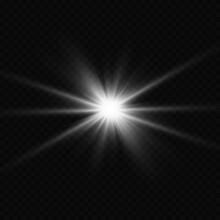 Explosion Sun. Star Shining. ...