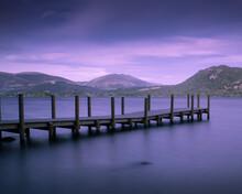 Pier On The Lake Of Derwent Wa...