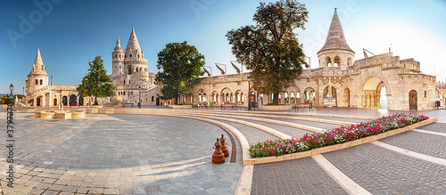 Papel de parede Fisherman's Bastion in the morning