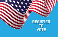 Register To Vote Banner Design...