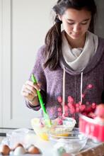 Teenager In Kitchen
