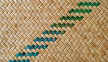 Weaving Detail With Colour Band