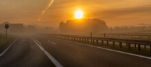 Sunrise Over The Highway