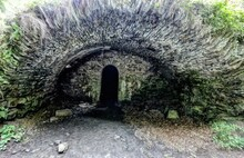 Old Castle Cellar Or Vault Ent...