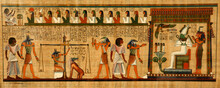 Papyrus Of The Dead Ancient Egypt