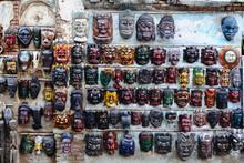 Traditional Buddhist Masks