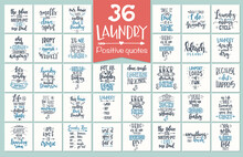 Laundry Hand Drawn Typography Poster. Conceptual Handwritten Phrase Laundry T Shirt Hand Lettered Calligraphic Design. Inspirational Vector. Vector Illustration