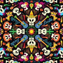 Skulls And Symbols Form A Trad...
