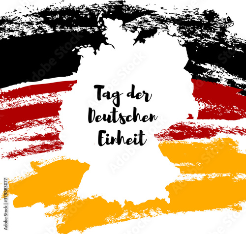 Germany Happy Unity Day greeting card Canvas-taulu