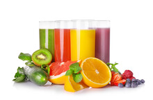 Fresh And Natural Healthy Juices