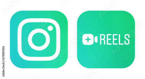 Instagram and Instagram Reels icons