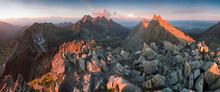 Scenic Image Of Fairytale Moun...