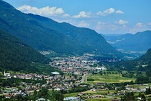 Italy-view On The Val Di Sole