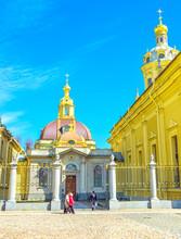 The Grand Ducal Burial Vault In Saint Petersburg, Russia