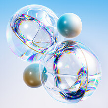 Glass And Solid Spheres