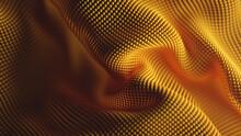 Yellow Pebbled Fabric