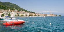 Lake Garda, Italy: Panorama Of...