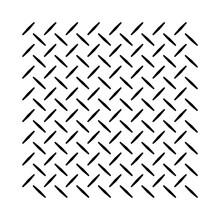 Checker Plate Or Diamond Plate Anti Slip Pattern In Vector