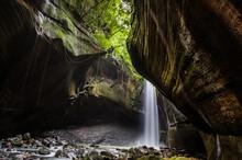 Waterfall In Long Exposure Pho...