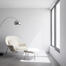 Contemporary Bright Modern Whi...