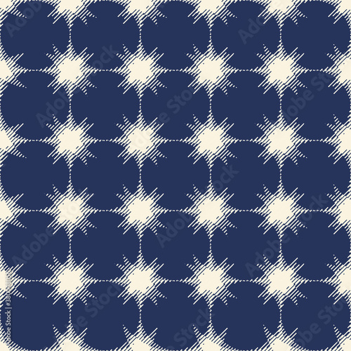 Fényképezés Abstract seamless pattern with bright elements of lines, spots for your creative ideas