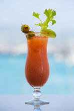 Bloody Mary At The Waterfront